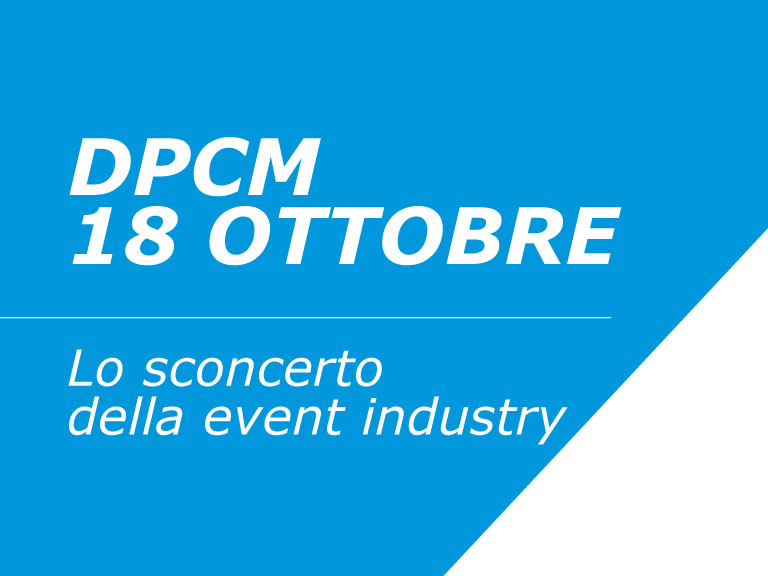 DPCM 18 Ottobre